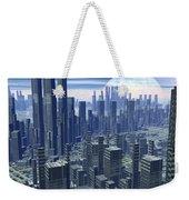 Futuristic City - 3d Render Weekender Tote Bag