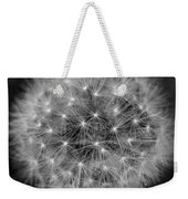 Fuzzy - Black And White Weekender Tote Bag