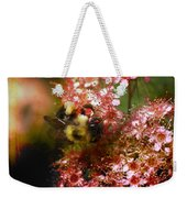 Fuzzy Buzzy Weekender Tote Bag