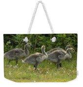 Fuzzy Fowlings Weekender Tote Bag