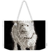 Fuzzy Molly Weekender Tote Bag