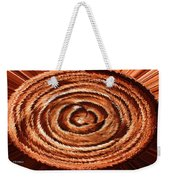 Fuzzy Rock Abstract Weekender Tote Bag