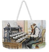 G. Cleveland Cartoon, 1893 Weekender Tote Bag