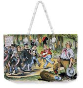 G. Cleveland Cartoon, 1896 Weekender Tote Bag