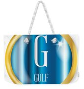 G For Golf Weekender Tote Bag