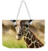 G Is For Giraffe Weekender Tote Bag