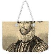 Gabriel De Lorges, Comte De Montgomery Weekender Tote Bag