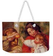 Gabrielle Jean And A Little Girl Weekender Tote Bag