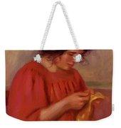 Gabrielle Mending 1908 Weekender Tote Bag