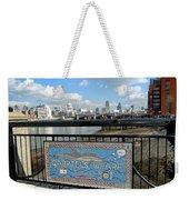 Gabriel's Wharf Weekender Tote Bag