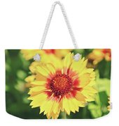 Gaillardia Flowers Weekender Tote Bag