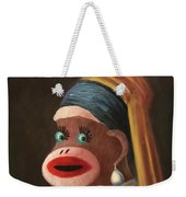 Gal With A Pearl Earring Weekender Tote Bag