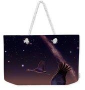 Galactic Migration Weekender Tote Bag