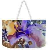Galactic Portal. Abstract Fluid Acrylic Pour Weekender Tote Bag