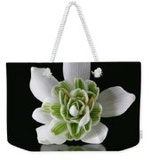 Galanthus Nivalis Flore Pleno Weekender Tote Bag