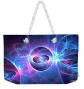 Galaxy Atoms Weekender Tote Bag