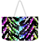 Galaxy In Time Abstract Design Weekender Tote Bag