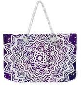 Galaxy Mandala Weekender Tote Bag