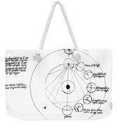 Galen, Phases Of The Moon, Diagram Weekender Tote Bag