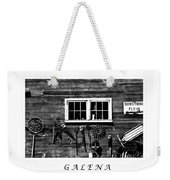 Galena Antiques Weekender Tote Bag