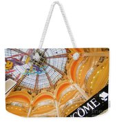 Galeries Lafayette Inside Art Weekender Tote Bag