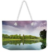 Gale's Pond Early In The Morning Weekender Tote Bag