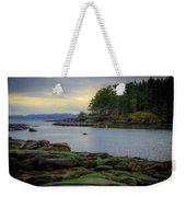 Galiano Island Inlet Weekender Tote Bag