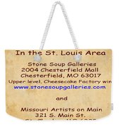 Gallery Locations In The St. Louis Area Weekender Tote Bag