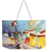 Gallion In Vila Do Conde Weekender Tote Bag