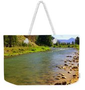 Gallitan River 1 Weekender Tote Bag