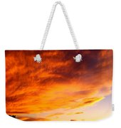 Gallo Peak Fiery Skies  Weekender Tote Bag
