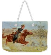 Galloping Horseman Weekender Tote Bag