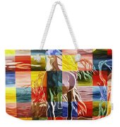Galloping In The Night Weekender Tote Bag