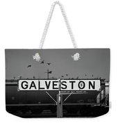 Galveston Train Yard Weekender Tote Bag