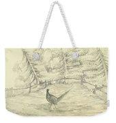 Game Bird By W  Buelow Gould  C 1835  Weekender Tote Bag