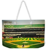 Game Day In Oakland Weekender Tote Bag