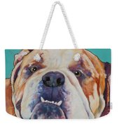 Game Face   Weekender Tote Bag