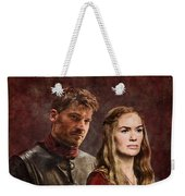 Game Of Thrones. Cersei And Jaime. Weekender Tote Bag