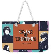 Game Of Thrones. House Stark. Weekender Tote Bag