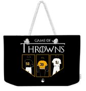 Game Of Throwns Weekender Tote Bag