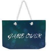Game Over  Weekender Tote Bag