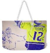 Game Winner Weekender Tote Bag