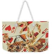 Games Of Love Weekender Tote Bag