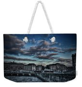 Stockholm In Dark Weekender Tote Bag
