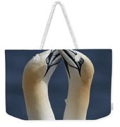 Gannets In Love Weekender Tote Bag