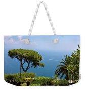 Garden And Bay Of Naples Weekender Tote Bag