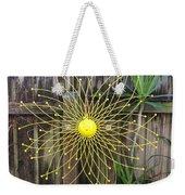 Yellow Sunflower Garden Art Weekender Tote Bag
