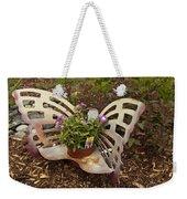 Garden Art Weekender Tote Bag