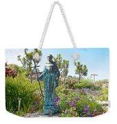 Garden At Carmel Mission-california Weekender Tote Bag