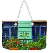 Garden Balcony Weekender Tote Bag